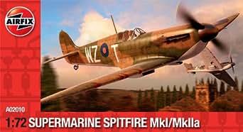 エアフィックス 1/72 スーパーマリーン スピットファイア Mk.I/Mk.Iia プラモデル