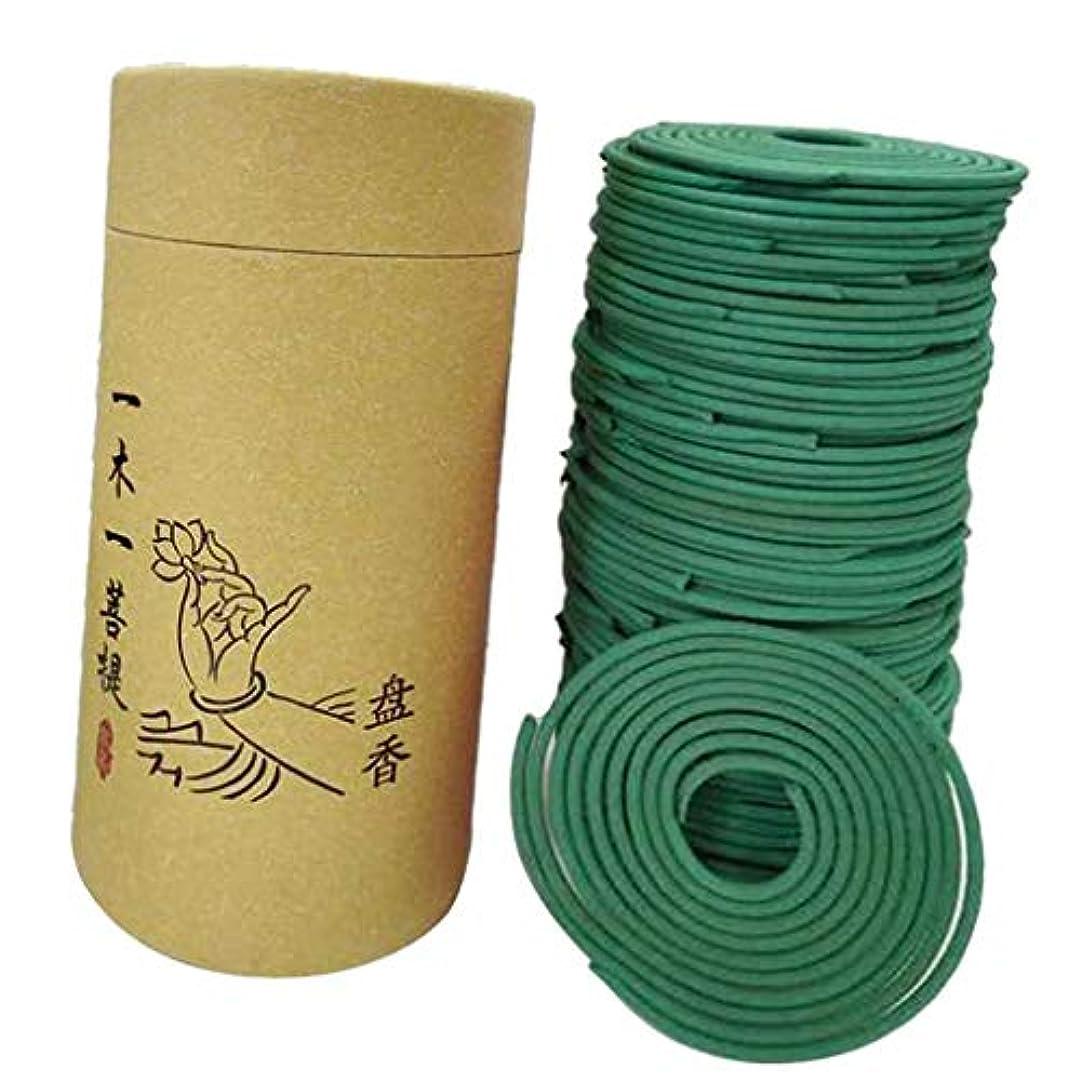 登る申し立てる実用的joyMerit 香りコイル 室内 アロマ セラピー リビングルーム ヨガルーム 香コイル - 緑茶