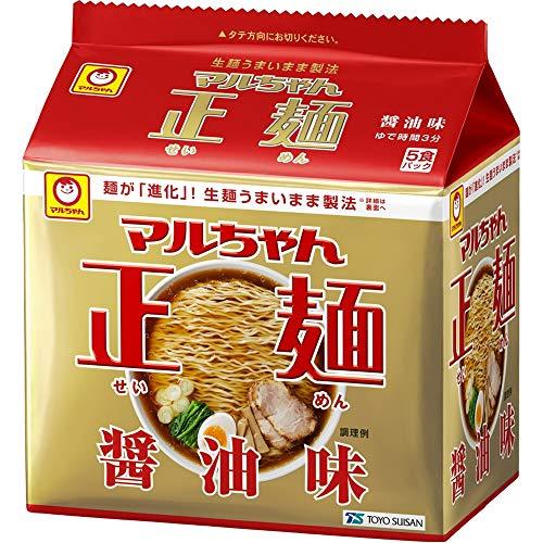 マルちゃん正麺 醤油味 5食×6個