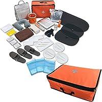 山善 ( YAMAZEN ) 非常用持ち出し 袋简易疏散套装防灾用品疏散双肩包防灾用品30件套
