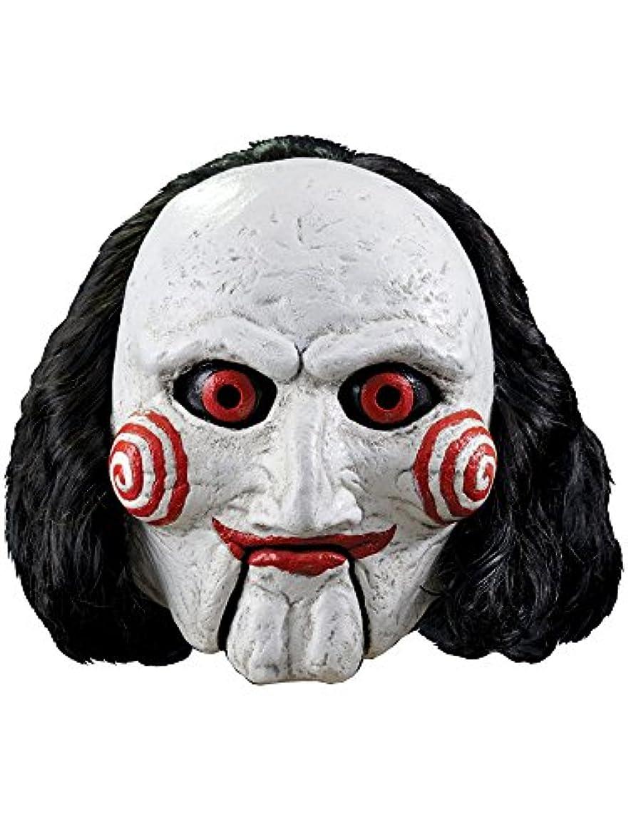 密日帰り旅行にゼロTrick Or Treat Studios RLLG103 SAW Movie Jigsaw Billy Adult Mask