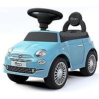 足けり乗用玩具 フィアット500 足けり乗物玩具 FIAT500 足けり玩具正規ライセンス (ブルー)