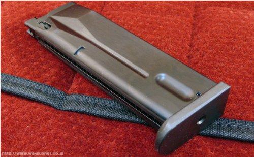 【WAスーパーリアルガン】ベレッタ M8045 26連 マガジン ブラック〈WA-BT12〉