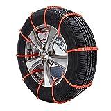 タイヤチェーン スノーチェーン 緊急脱出用使い捨てスノーヘルパー ジャッキアップ不要 非金属 簡易型 10本入れ 凍結 スリップ 事故防止