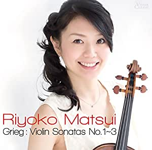 グリーグ:ヴァイオリン・ソナタ第1番~第3番
