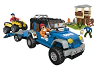 Mega Bloks Jeep Forest Expedition