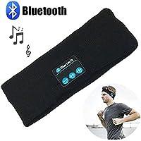 Cutop Bluetoothワイヤレスヘッドバンド帽子、スポーツ用