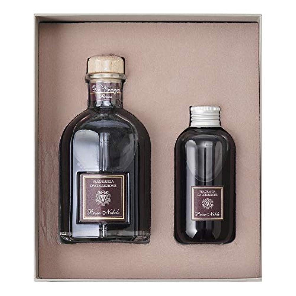 マルコポーロ尊敬する誇りに思うドットール?ヴラニエス ロッソノービレ ギフトボックス ディフューザー リフィル ROSSO NOBILE GIFT BOX 250ML WITH STICKS + 150ML REFILL (Rosso nobile/...