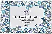Liberty London Fabricics 英国庭園 Aurifil スレッドキット 12枚 Lスプール50重量 LL50EGSP12