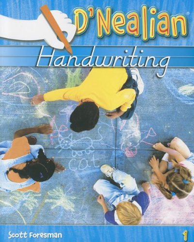 Download D'nealian Handwriting Level 1: Student Edition Consumable 0328211974