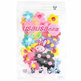 usausaのお店 造花 花形のフラワーモチーフ 50個セット(約25mm)(B047)