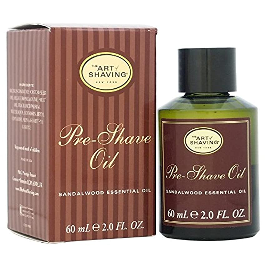 乳白ルーキー公使館The Art Of Shaving Pre-Shave Oil With Sandalwood Essential Oil (並行輸入品) [並行輸入品]