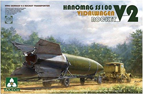 1/35 WW.II ドイツ V2ロケット w/ハノマーグSS100トラクター フィダルワーゲン