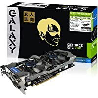 玄人志向 GeForce GTX760 OCモデル 2GB PCI-E GF-GTX760-E2GHD/OC