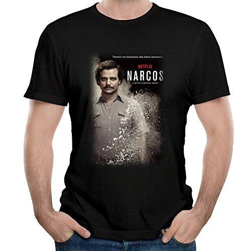 ナフコス・コルタンド・カベザス、ナルコス、メンズのTシャツ Size:L