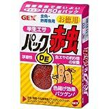 ジェックス パックDE赤虫 お徳用 50g