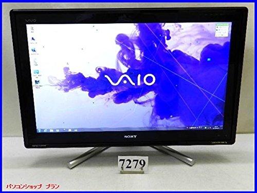 中古デスクトップ 液晶一体型PC SONY VAIO Lシリーズ VPCL239FJ Core i7 2670QM 2.20GHz 8GB 1TB BDマルチ 地デジ 3D