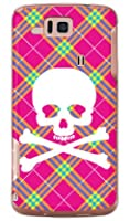SECOND SKIN スカルパンク ピンク (クリア) / for AQUOS PHONE CL IS17SH/au ASHA17-PCCL-201-Y218