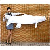 色塗りできる 白色布製こいのぼり 180cm / 手作り工作 工作イベント  3822