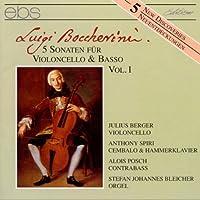 Boccherini:Cello Sonatas Vol.1
