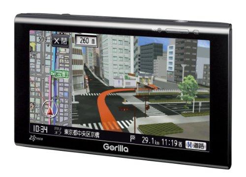 SANYO Gorilla 5.2V型 SSDポータブルナビゲーション NV-SB570DT