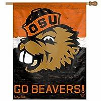 NCAAカレッジVault Oregon State Beavers Vault 27-by-37インチ垂直フラグ