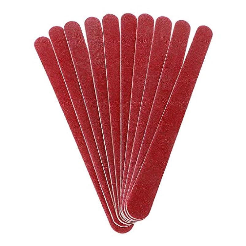 褐色対話買収Sharring 10PCSネイルアートサンディングファイルポリッシュアクリルサンドペーパーフロッピーマニキュアセットツール [並行輸入品]