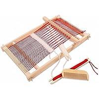 木製 メイキングトイ 手織り機 編み機 手織り 織機 DIY