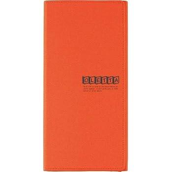 キングジム オレッタ A4三つ折りホルダー縫製タイプ 797オレ 00159681【まとめ買い3冊セット】