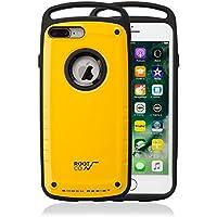【ROOT CO.】iPhone7Plus iPhone8Plus 耐衝撃 ケース GRAVITY Shock Resist Case Pro. (イエロー)米軍MIL規格取得