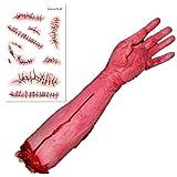 【Natural Stuff】どっきり 大成功!? 本物そっくり 切断された 腕 手 足 パーティー イベント 学園祭 ハロウィン ジョーク グッズ (手Cタイプ)
