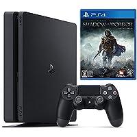 PlayStation 4 ジェット・ブラック 500GB + シャドウ・オブ・モルドール