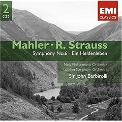 バルビローリ指揮 Mahler: Symphony No. 6; R. Strauss: Ein Heldenleben(英雄の生涯)の商品写真