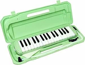 KC 鍵盤ハーモニカ (メロディーピアノ) ライトグリーン P3001-32K/UGR