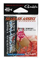 がまかつ(Gamakatsu) アシストフック シーバスアシスト キャストジギング 1号 2組 シルバー 68050
