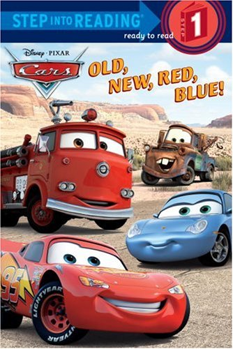 Old, New, Red, Blue! (Disney/Pixar Cars) (Step into Reading)の詳細を見る