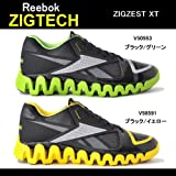 reebok スポーツシューズ [リーボック] Reebok ZIGZEST XT V58591 00 (ブラック/ブレイズイエロー/フラットグレイ/26.5)