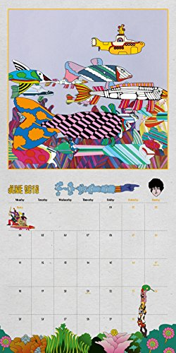 The Beatles Official 2018 Calendar A3 Poster Format (Calendar 2018)