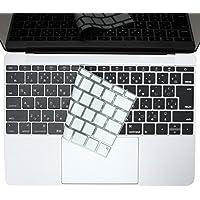 """【日本正規代理店品】BEFiNE キースキン 新しいMacBook 12"""",2016年 Macbook Pro 13""""(Touch ID 非対応モデル)用 キーボードカバー ベーシック ブラック"""