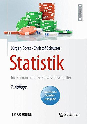 Download Statistik fuer Human- und Sozialwissenschaftler: Limitierte Sonderausgabe (Springer-Lehrbuch) 3662503735