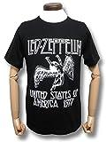 レッド・ツェッペリン/アメリカツアー'77/LED ZEPPELIN/USA TOUR '77/ロックTシャツ/バンドTシャツ/メンズ