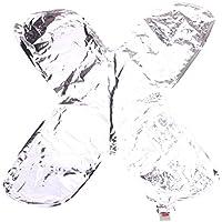 (ラボーグ) La vogue アルミ風船 レター風船 バルーン 16インチ 40cm A-Z英字自由選択 イベント 二次会 パーティー 結婚式用品 装飾 飾り シルバー 1枚入れ X銀色文字