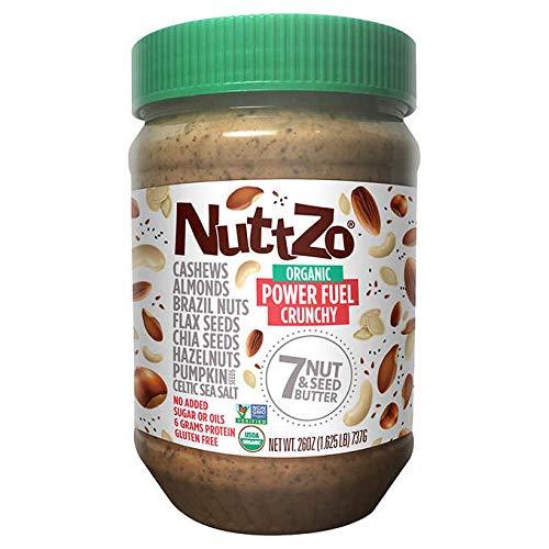 Nuttzo Organic 7 Nut & Seed Butter ナッツォオーガニック 7ナット&シードバター、パワーフューチャークランチ、730g [並行輸入品]