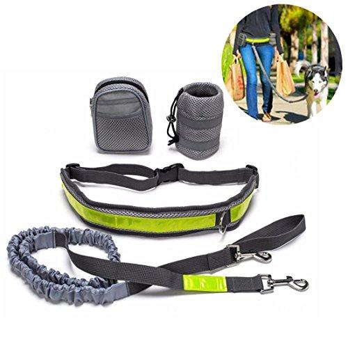 SOROS ドッグリード 運動リード 犬用伸縮リード ロープ...