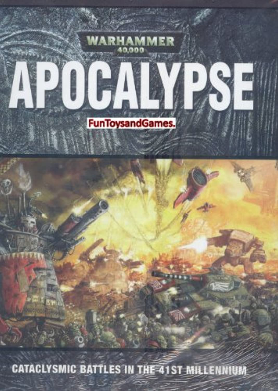 Warhammer 40K Apocalypse Hardcover Rulebook