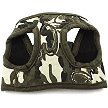 uxcell Release Buckle Camouflage Print Pet Dog Cat Harness Vest XS