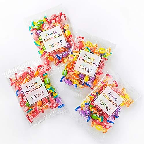 新宿高野 フルーツチョコレート 小袋タイプ(4袋入) 贈り物 [バレンタインデー/ホワイトデー] 5種類のフルーツ