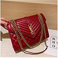 Women's Totes Crossbody Shoulder BagsFashion rhombus small fragrance wind chain package