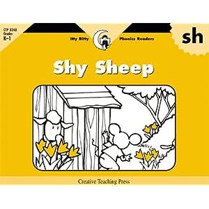 Sh, Shy Sheep (Itty-Bitty Phonics Readers)