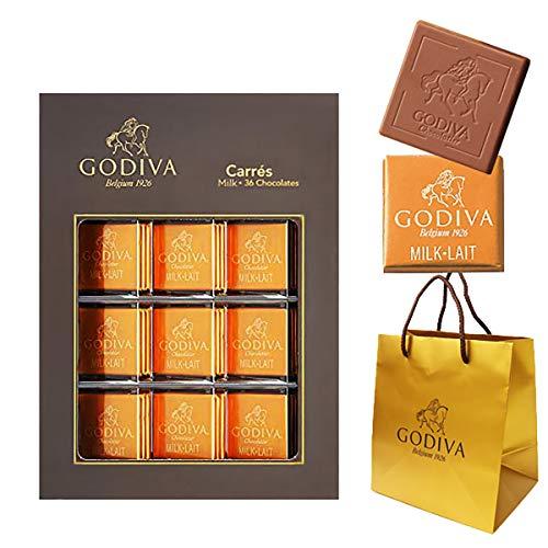 ゴディバ(GODIVA) ゴディバ チョコレート ギフト お菓子 詰め合わせ ブランド 詰め合わせ (カレ ミルク 36枚)